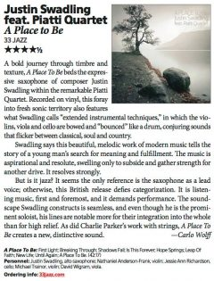 Downbeat Magazine Review (USA)